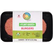 Full Circle Plant-Based Burgers