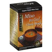 Miso To Go Instant Miso Soup, Classic Blend, Organic
