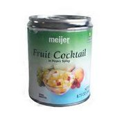 Meijer Fruit Cocktail in Heavy Syrup