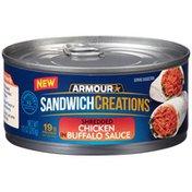 Armour Chicken, Shredded, in Buffalo Sauce