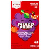 Market Pantry Fruit-Flavored Snacks, Mixed Fruit