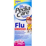 PediaCare Flu Plus Acetaminophen Children 6-11 Bubble Gum