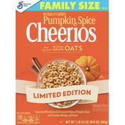 Cheerios Cereal, Pumpkin Spice, Family Size