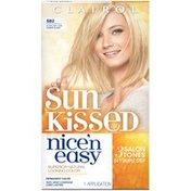 Clairol Nice 'n Easy, SB2 Ultra Light Cool Summer Blonde, Permanent Hair Color, 1 Kit Female Hair Color
