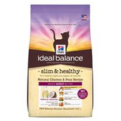 Hill's Science Diet Ideal Balance Slim & Healthy Natural Chicken & Peas Cat Food