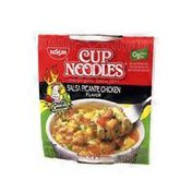 Nissin Salsa Picante Chicken Flavor Cup Ramen Noodles