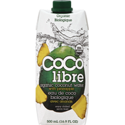 Coco Libre Organic Coconut Water, Organic, with Pineapple