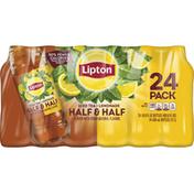 Lipton Half & Half, Iced Tea/Lemonade, 24 Pack