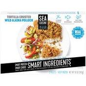 Sea Cuisine Tortilla Crusted Wild Alaska Pollock Fillets