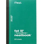 Mead Fat Lil' Neatbook, Wireless