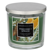 Aromascape Soy Wax Blend Candle Pinecone + Spruce