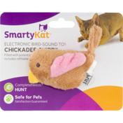 SmartyKat Chickadee Chirp Electronic Bird-Sound Toy