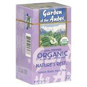 Garden of the Andes Herb Tea, Lemon Balm