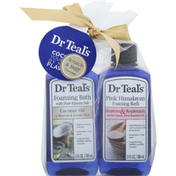 Dr. Teal's Foaming Bath, with Pure Epsom Salt, Pink Himalayan/Coconut Oil