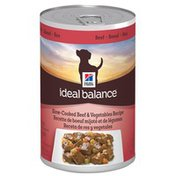 Hill's Science Diet Ideal Balance Slow Cooked Beef & Vegetables Recipe Dog Food