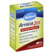 Hyland's Arnica 30X, Pain Relief Formula, Quick-Dissolving Tablets