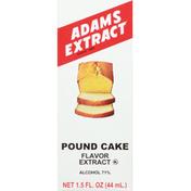 Adams Extract Flavor Extract, Pound Cake