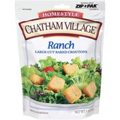 Chatham Village Ranch Large Cut Baked Croutons