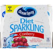 Ocean Spray Diet Sparkling Cranberry - 6 CT