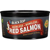 Black Top Skinless Boneless Red Salmon