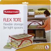 Rubbermaid Flex Tote, Large, 30 Gallon