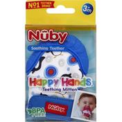 Nûby Teething Mitten, 3+ Months