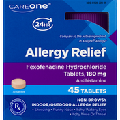CareOne Allergy Fexofenadine Tablets