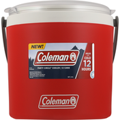 Coleman Cooler, Party Circle, 12 Cans