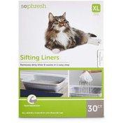 So Phresh Cat Litter Box Sifting Liners