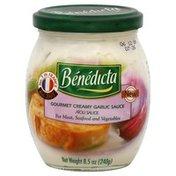 Benedicta Garlic Sauce, Gourmet Creamy
