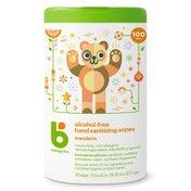 Babyganics Alcohol-Free Hand Sanitizer Wipes, Mandarin