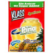Klass Drink Mix, Pineapple Flavored