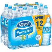 Nestlé Pure Life Sport Bottle with Flip Cap Purified Water