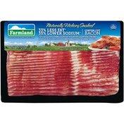Farmland Naturally Hickory Smoked 33% Less Fat 35% Lower Sodium Center Cut Bacon