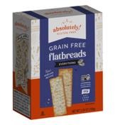 Absolutely Gluten Free  Everything Season Flatbread