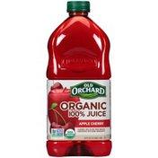 Old Orchard Organic 100% Apple Cherry Juice