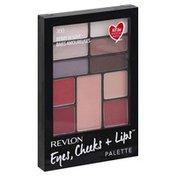Revlon Eyes, Cheeks + Lips Palette, Berry in Love 300