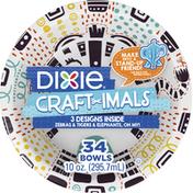 Dixie Bowls, 10 Ounces