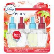 Febreze Odor-Eliminating Fade Defy Air Freshener Refill, Berry & Bramble