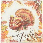 CR Gibson Napkins, Lunch, Harvest Turkey, 3-Ply