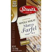 Streit's Matzo Farfel, Whole Wheat