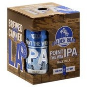 Golden Road Brewing Ale, India Pale, IPA, Point the Way
