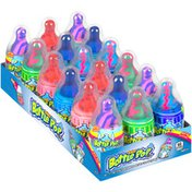 Baby Bottle Pop Assorted Flavor Candy Lollipops with Powdered Candy, 1.1oz, 18 Count