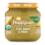 Happy Baby Pears, Mangos & Spinach
