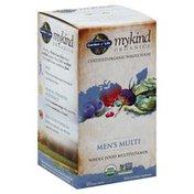 Garden of Life Multivitamin, Whole Food, Men's Multi, Vegan Tablets