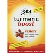 Gaia Herbs Turmeric Boost, Packets