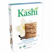 Kashi Breakfast Cereal, Vegan Protein, Organic Fiber Cereal, Island Vanilla