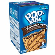 Kellogg's Pop-Tarts Breakfast Toaster Pastries, Frosted Chocolate Chip