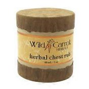 Wild Carrot Herbals Herbal Chest Rub