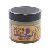 Primal Pit Paste Natural Deodorant, Lavender